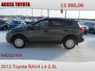 Used 2013 Toyota RAV4 for sale in Rouyn-Noranda, QC