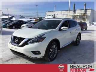 Used 2018 Nissan Murano SL AWD ***BALANCE GARANTIE*** for sale in Beauport, QC