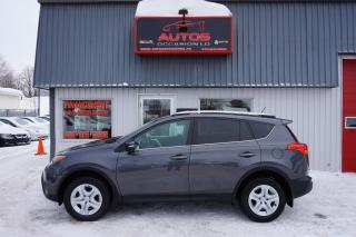 Used 2015 Toyota RAV4 Le Awd T.équipé for sale in Lévis, QC