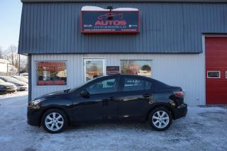 Used 2010 Mazda MAZDA3 Gs T.équipé équipé for sale in Lévis, QC