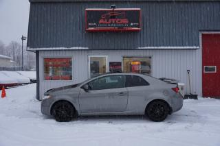 Used 2012 Kia Forte Koup 2.4l Sx 6 Vit. Cuir for sale in Lévis, QC