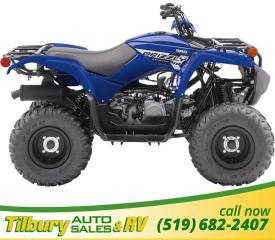 New 2019 Yamaha Grizzly 90 Robust 90cc Engine. Age 10+ for sale in Tilbury, ON