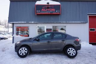Used 2011 Mazda MAZDA3 GX A/C for sale in Lévis, QC