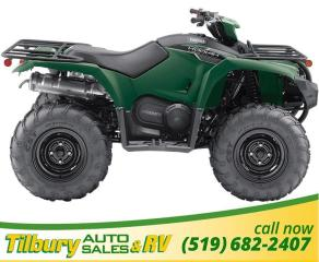 New 2019 Yamaha KODIAK 450 EPS 421 cc, fuel-injected, single-cylinder for sale in Tilbury, ON