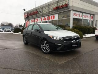 New 2019 Kia Forte EX Limited | Navigation | Htd. & Cooled Seats for sale in Port Dover, ON