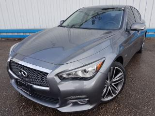 Used 2015 Infiniti Q50 Premium AWD *NAVIGATION* for sale in Kitchener, ON