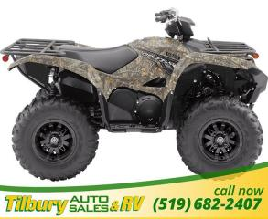 New 2019 Yamaha GRIZZLY EPS CAMO New potent 700-Class engine for sale in Tilbury, ON