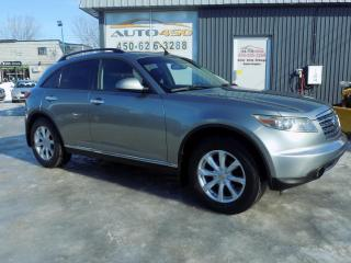 Used 2006 Infiniti FX35 ***CUIR,4X4,2 ENSEMBLES DE ROUES*** for sale in Longueuil, QC