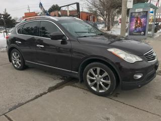 Used 2008 Infiniti EX35 NAV,B/U/CAMERA,SAFETY+3YEARS WARRANTY INCLUDED for sale in Toronto, ON