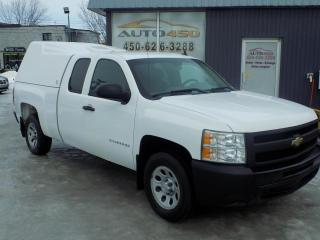 Used 2010 Chevrolet Silverado 1500 ***KING CAB,BOITE DE 6 PIEDS,6 PLACES*** for sale in Longueuil, QC