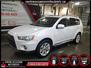 Used 2010 Mitsubishi Outlander XLS V6 S-AWC + 710 WATTS + CUIR for sale in Blainville, QC