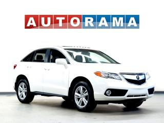 Used 2015 Acura RDX TECH PKG NAVI BACK UP CAM LEATHER SUNROOF AWD for sale in Toronto, ON