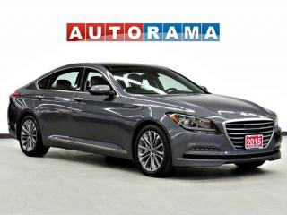 Used 2015 Hyundai Genesis 3.8 TECH PKG NAVI BACK UP CAM LEATHER SUNROOF AWD for sale in Toronto, ON