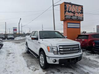 Used 2014 Ford F-150 Lariat 4X4**LEATHER**ONLY 103KMS**CAM**SUPERCREW** for sale in London, ON