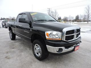 Used 2006 Dodge Ram 2500 SLT.Diesel. 4X4. Only 188000 km's for sale in Gorrie, ON