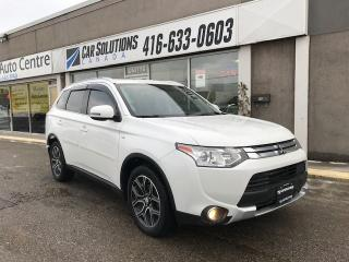 Used 2015 Mitsubishi Outlander GT-V6-7PASS-LEATHER-SNROOF for sale in Toronto, ON