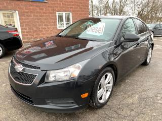 Used 2014 Chevrolet Cruze Diesel/2T/ONE OWNER/NO ACCIDENT/CERTIFIED/WARRANTY for sale in Cambridge, ON