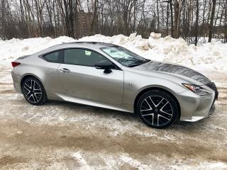 Used 2018 Lexus RC RC 350 F SPORT AWD ONLY 7300 km for sale in Perth, ON