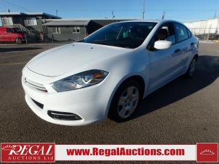 Used 2015 Dodge DART SE 4D SEDAN 2.0L for sale in Calgary, AB