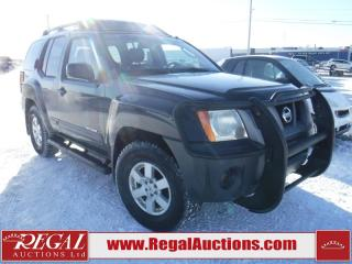 Used 2007 Nissan XTERRA OFF ROAD 4D UTILITY 4WD for sale in Calgary, AB