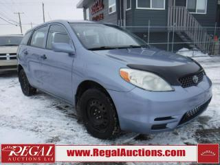 Used 2004 Toyota MATRIX  4D HATCHBACK AWD for sale in Calgary, AB