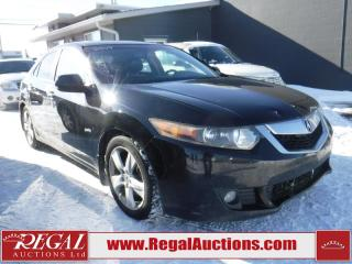 Used 2009 Acura TSX 4D Sedan for sale in Calgary, AB