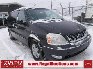 Used 2007 Ford FREESTAR SEL 4D WAGON for sale in Calgary, AB