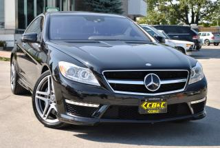 Used 2012 Mercedes-Benz CL63 AMG CL63 AMG BITURBO V8 AMG PERF PACK - NO ACC ONT CAR for sale in Oakville, ON