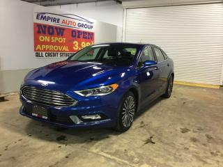 Used 2017 Ford Fusion *HEATED SEATS/COOLING SEATS*LEATHER INTERIOR*SUNROOF* for sale in London, ON