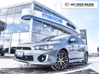 Used 2017 Mitsubishi Lancer GTS S-CVT, NO ACCIDENTS|BACKUP CAM|HEATED SEATS| for sale in Mississauga, ON