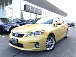 Used 2012 Lexus CT 200h CVT Touring PKG, NO Accidents, Rare Color for sale in North Vancouver, BC