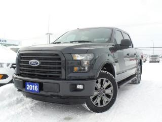 Used 2016 Ford F-150 XLT 5.0L V8 REVERSE CAMERA HEATED SEATS for sale in Midland, ON
