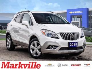 Used 2015 Buick Encore CXL-AWD-ROOF-LEATHER-GM CERTIFIED PRE-OWNED for sale in Markham, ON