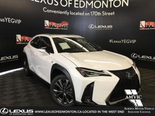 New 2019 Lexus UX 200 F Sport Series 1 for sale in Edmonton, AB