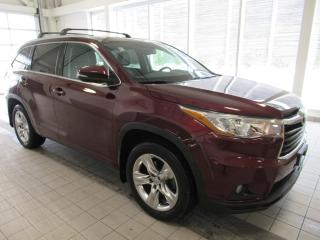 Used 2015 Toyota Highlander Limited LEASE RETURN ONE OWNER for sale in Toronto, ON