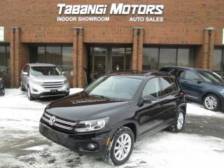 Used 2015 Volkswagen Tiguan COMFORTLINE | NO ACCIDENT | LEATHER | SUNROOF | REAR CAM for sale in Mississauga, ON