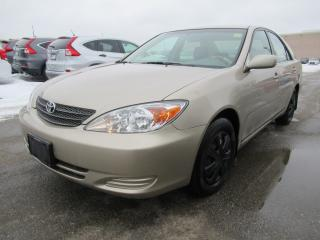 Used 2002 Toyota Camry LE, REMOTE STARTER INCLUDED!! for sale in Brampton, ON