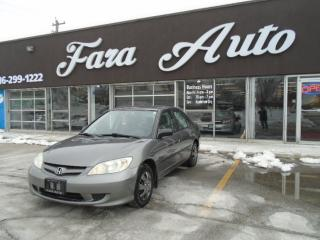 Used 2005 Honda Civic SE AUTO for sale in Scarborough, ON