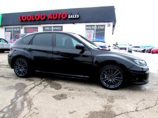 Used 2011 Subaru Impreza WRX STi STI TURBO AWD 6 SPEED BLUETOOTH CERTIFIED for sale in Milton, ON