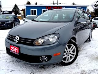 Used 2011 Volkswagen Golf Wagon 2.0L TDI COMFORTLINE PANORAMIC ROOF CERTIFIED for sale in Guelph, ON