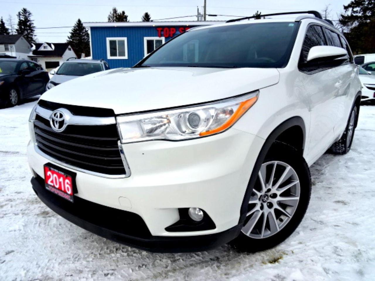 2016 Toyota Highlander XLE AWD V6 NAVI NO ACCIDENT CAMERA SUNROOF CERTIFIED