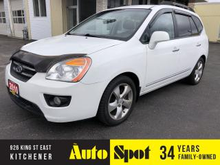 Used 2010 Kia Rondo EX w/3rd Row/LEATHER/LOADED/PRICED-QUICK SALE! for sale in Kitchener, ON