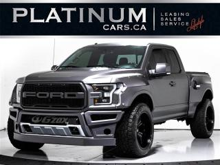 Used 2017 Ford F-150 RAPTOR, WIDEBODY, COBB, NAVI, 360 CAM, Blindspot for sale in Toronto, ON