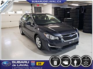 Used 2016 Subaru Impreza 2,0i Awd ** Caméra de recul ** for sale in Laval, QC