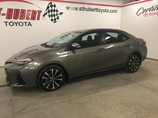 Used 2017 Toyota Corolla Se, T.ouvrant for sale in St-Hubert, QC