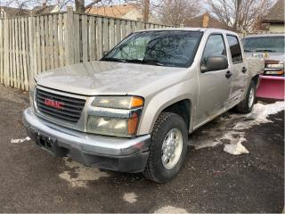 Used 2007 GMC Canyon SLE Selling As Is! Nice Local Trade In! for sale in St Catharines, ON