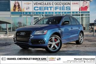 Used 2017 Audi SQ5 3.0T Dynamic Edition for sale in St-Léonard, QC