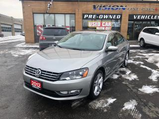 Used 2012 Volkswagen Passat 3.6L Highline (A6)/VR6/NAVI/FENDER for sale in North York, ON