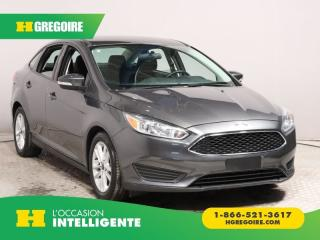 Used 2016 Ford Focus SE A/C GR ELECT for sale in St-Léonard, QC