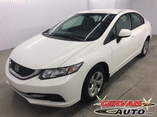 Used 2013 Honda Civic LX A/C for sale in Trois-Rivières, QC